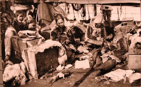 イヌイットの女性たち