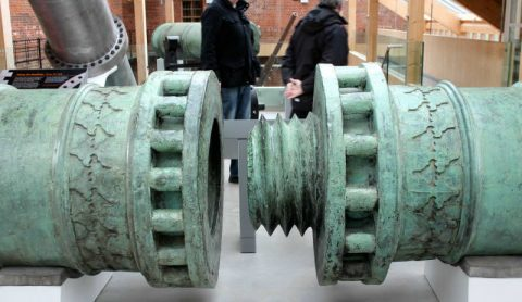 ウルバン砲の繋ぎ目