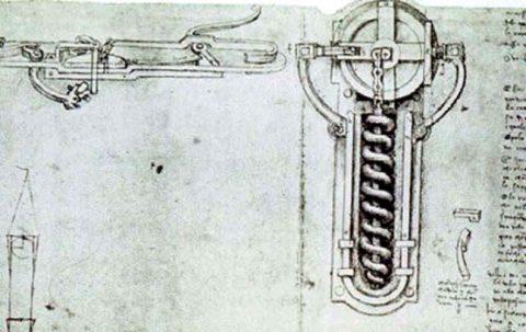 Leonardo Di Vinci wheellock