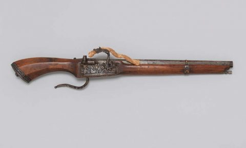 1540-99 European match lock pistol