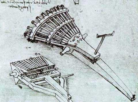 Machinegun Da Vinci