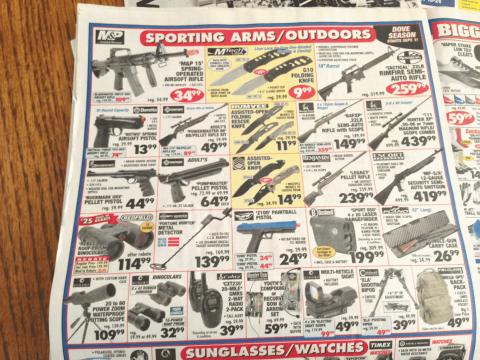 gun flyer