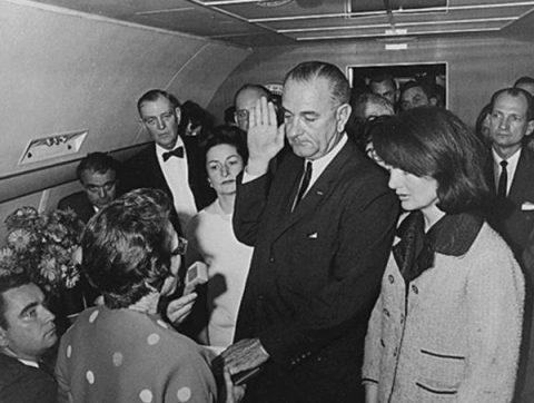 ジョンソン大統領宣誓式
