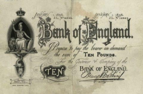ポンド紙幣(1836)