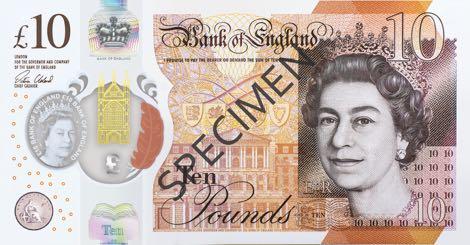 ポンド紙幣(2016)