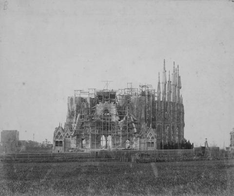 Fachada de la Natividad - 1898