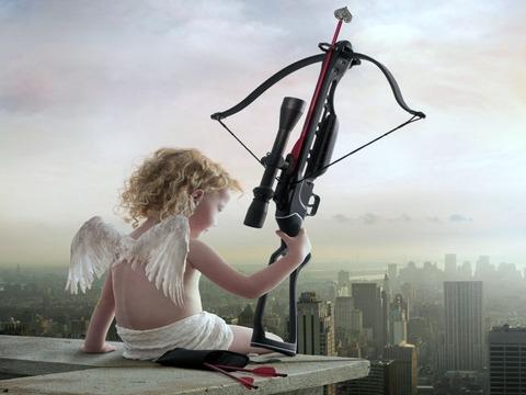 crossbow angel
