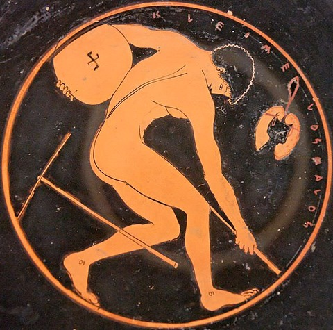 古代の円盤投