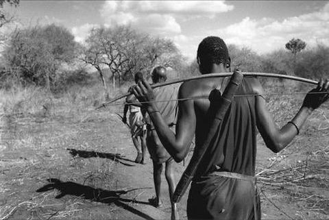 原住民の弓