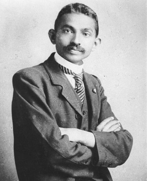 Gandhi_young
